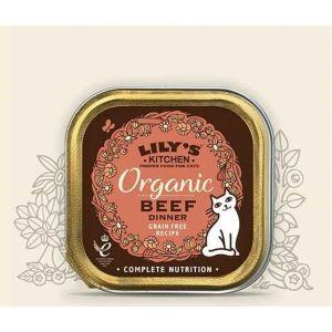 Lily's Kitchen Organic Délice de Boeuf Bio Chat 19 x 85 g