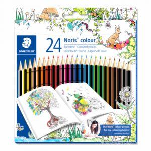 Staedtler Set de 24 crayons Johanna Basford - 24 crayons Noris colour