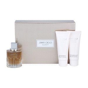 Jimmy Choo Illicit - Coffret cadeau eau de parfum, lait parfumé pour le corps et gel douche parfumé