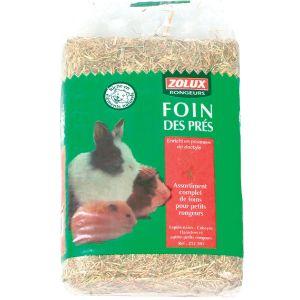 Zolux Foin des prés 30 litres (1kg) pour petits mammifères