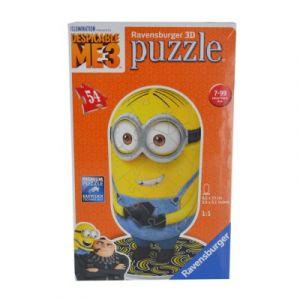 Ravensburger Moi, Moche et Méchant 3 Bob - Puzzle 3D 54 pièces