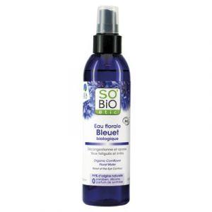 So'Bio Étic Eau florale Bleuet biologique - Décongestionnante du contour de l'oeil