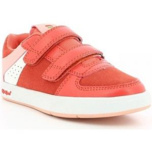 Kickers Gready Low Cdt, Sneakers Basse Mixte, Rouge, 35