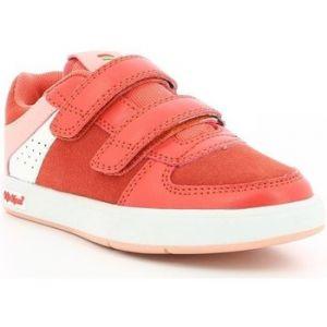 Image de Kickers Gready Low Cdt, Sneakers Basse Mixte, Rouge, 35