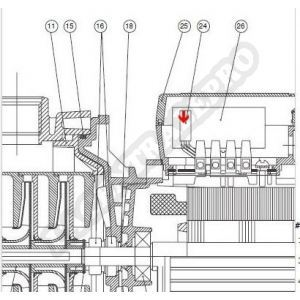 Procopi 977213 - Klixon automatique moteur surpresseur Multipool