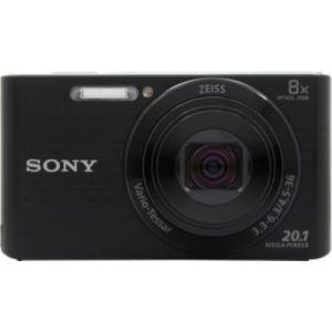 Sony Appareil photo Compact Pack DSC-W830 noir + Housse