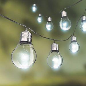 Xanlite Guirlande extérieure LED intégrée = 60 Lm, noir