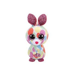 Ty 33010 - Basket Beanies - Peluche Bloomy Le Lapin - Multicolore