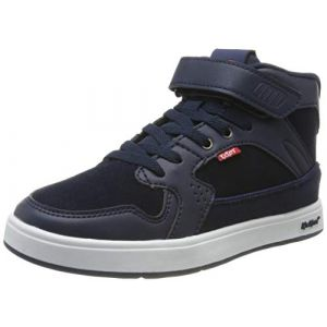Kickers Baskets montantes çà scratch Gready Mid CDT Bleu Marine - Taille 28;29;30;31;32;33;34;35