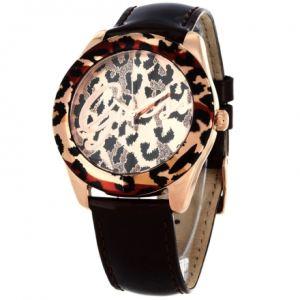 Guess W0455L - Montre pour femme avec bracelet en cuir