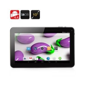 "High-Tech Place 10.1 Inch Quad Core Tablet - Tablette tactile 10.1"" 16 Go sous Android 4.4"