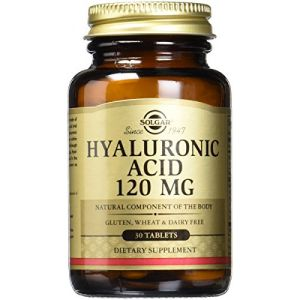Solgar Acide hyaluronique 120mg - 30 comprimés