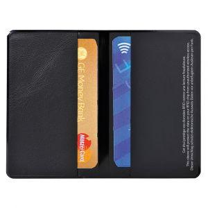 Exacompta 5402E - Etui RFID Hidentity Double en PVC pour carte bancaire / de crédit format 95x60