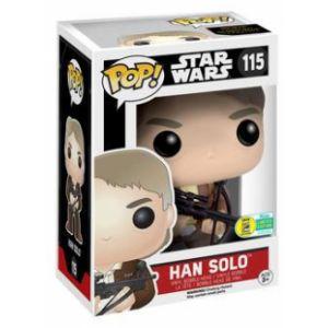 Funko Figurine Pop! Star Wars : Han Solo avec l'arbalète du Chewbacca