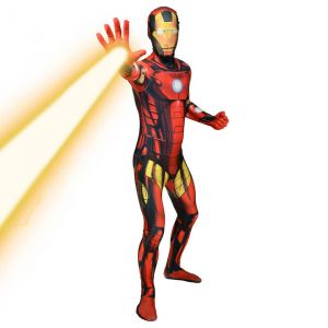 Déguisement morphsuits zapper Iron Man adulte