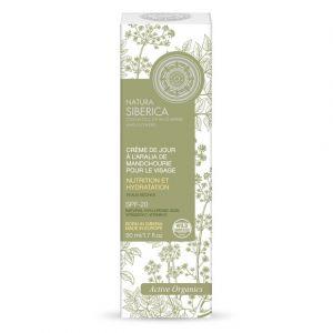 Natura Siberica Crème de jour à l'aralia de Mandchourie pour le visage SPF20 - Le tube de 50ml