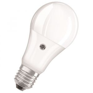Osram Ampoule LED Star + Daylight Sensor E27 standard 10 W équivalent a 75 W blanc chaud - Culot : E27 - Puissance : 10 W - Equivalence : 75 W - Flux lumineux : 1060 Lm.