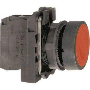 Schneider Bouton-poussoir rouge Ø 22 mm à impulsion affleurant XB5AA42 Harmony XB5