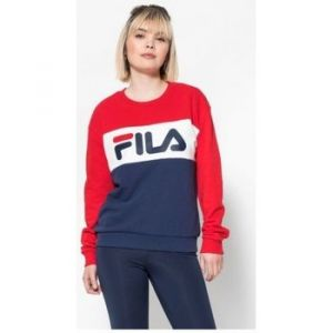 FILA LEAH Crew Sweat - MARINE/ROUGE - femme - SWEAT SHIRT