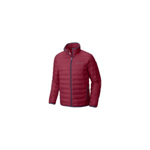 Columbia Homme Veste, Lake 22 Down Jacket, Polyester, Rouge (Red Element), Taille L, 1737881