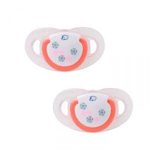 Bébé Confort 2 sucettes Maternity Dental Safe en silicone 0-6 mois