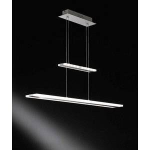 Wofi Lampe suspendue MISSION LED Nickel mat, 1 lumière