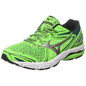 look for 34ee2 13485 Image de Mizuno Wave Prodigy, Chaussures de Running Homme, Multicolore  (Greenslime Silver