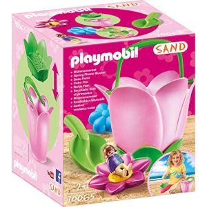 Playmobil Seau à sable SAND fleur printanière 70065