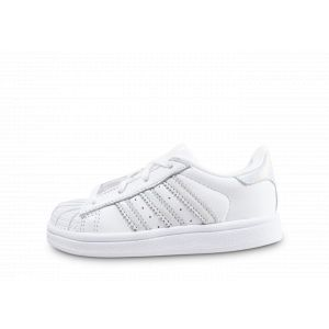 Adidas Superstar Iridescent Bébé Blanche 27 Baskets