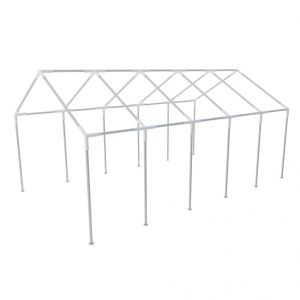 VidaXL 40267 - Structure de tente chapiteau pavillon 10 x 5 m
