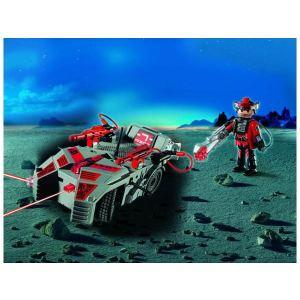Playmobil 5156 - Véhicule des Darksters commandé par infrarouge avec rayon lumineux