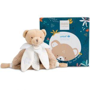 Doudou et Compagnie Doudou fleur ours luminescent UNICEF