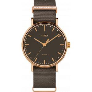 Timex TW2R48900D7 - Montre pour homme avec bracelet en tissu