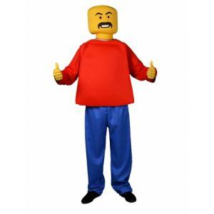 SECONDE PEAU LEGO MONSIEUR BLOC-TAILLE UNIQUE