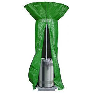 Bosmere Products Ltd P545 Protection d'écran Plus Chauffage de terrasse Ronde Housse réversible – Vert/Noir