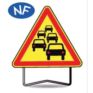Taliaplast 522010 - Panneau signalisation danger bouchon ak30 t1 1000mm