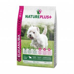 Eukanuba Natureplus - Croquettes avec agneau pour chien adulte de petite race - Sac 2,3 kg