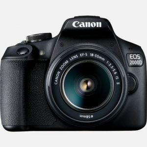 Canon EOS 2000D (avec objectif 18-135mm)