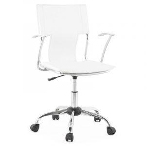 Kokoon Design Fauteuil de bureau OXFORD WHITE
