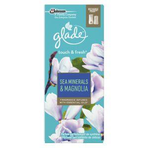 Glade Recharge pour diffuseur de parfum, sels marins et magnolia