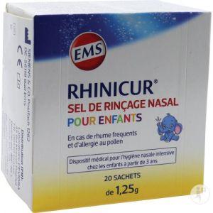 Rhinicur Sel de rinçage nasal pour enfants