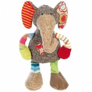 Sigikid Peluche Sweety : Éléphant 28 cm