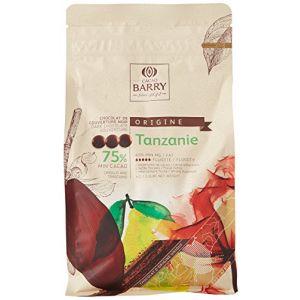 Barry M Chocolat noir origine Tanzanie 75% 1 kg