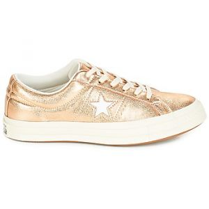 Converse Chaussures ONE STAR OX Doré - Taille 39,40,41