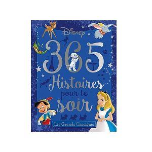 Hachette Les Grands Classiques Disney - 365 Histoires pour le Soir