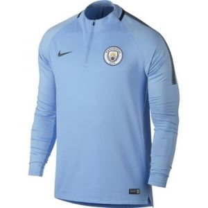 Nike Veste Manchester City FC Drill Top bleu - Taille EU M,EU L,EU XL