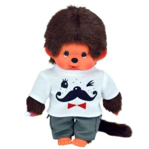 Bandai Kiki garçon moustache 20 cm