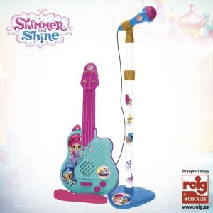 Reig Musicales Microphone et guitare Shinmer and Shine