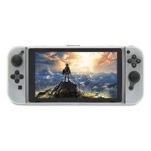 Straße Game Housse Étui Silicone De Protection Pour Console Nintendo Switch - Blanc