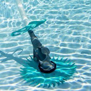 SPOOL Aspirateur Robot automatique hydraulique pour piscine hors sol et enterrée 0,33 CV
